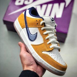 Dunk SB Low Laser Orange Purple Lakers